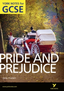 Pride and Prejudice: York Notes for GCSE (Grades A*-G), Paperback Book