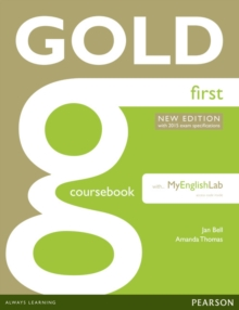 Gold First New Edition Coursebook with FCE MyLab Pack, Mixed media product Book