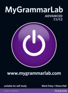 MyGrammarLab Advanced without Key and MyLab Pack, Mixed media product Book