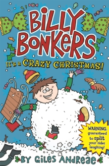 Billy Bonkers: It's a Crazy Christmas, Paperback Book