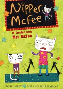In Trouble with Mrs. McFee, Paperback Book