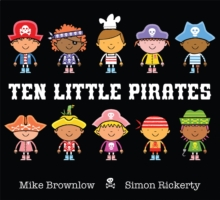 Ten Little Pirates, Paperback / softback Book