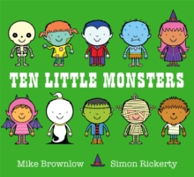 Ten Little Monsters, Paperback Book