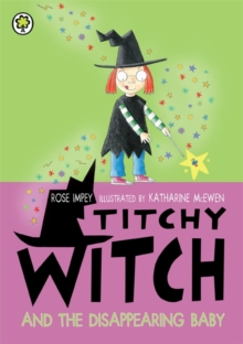 Titchy Witch and the Disappearing Baby, Paperback Book