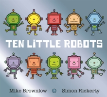 Ten Little Robots, Paperback / softback Book