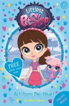 Littlest Pet Shop: Art from the Heart : Book 3, Paperback Book
