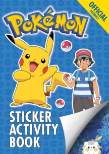 The Official Pokemon Sticker Activity Book, Paperback / softback Book