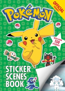 The Official Pokemon Sticker Scenes Book, Paperback / softback Book