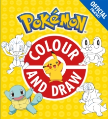 The Official Pokemon Colour and Draw, Paperback / softback Book