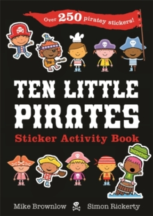Ten Little Pirates Sticker Activity Book, Paperback / softback Book