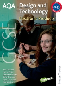 AQA GCSE Design and Technology: Electronic Products, Paperback Book