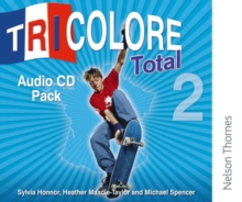 Tricolore Total 2 Audio CD Pack, CD-Audio Book