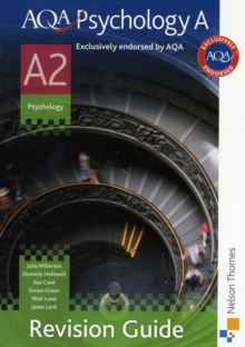 AQA Psychology A A2 Revision Guide, Paperback Book