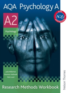 AQA Psychology A A2 Research Methods Workbook, Paperback Book