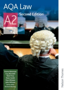 AQA Law A2, Paperback Book