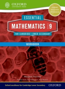 Essential Mathematics for Cambridge Lower Secondary Stage 9 Work Book, Paperback / softback Book