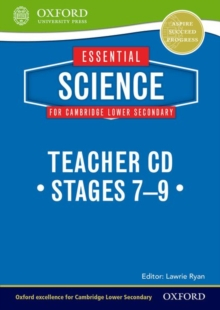 Essential Science for Cambridge Lower Secondary Teacher's CD, CD-ROM Book