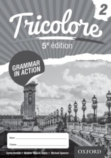 Tricolore 5e edition Grammar in Action Workbook 2 (8 pack), Mixed media product Book