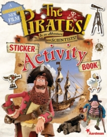 The Pirates! Sticker Activity Book, Paperback Book