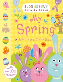 My Spring Activity and Sticker Book, Paperback Book