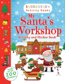 My Santa's Workshop Activity and Sticker Book, Paperback Book
