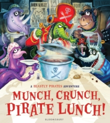 Munch, Crunch, Pirate Lunch!, Paperback Book