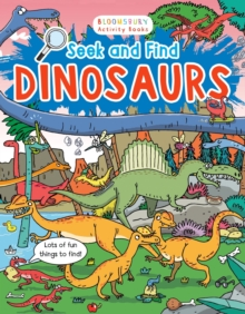 Seek and Find Dinosaurs, Paperback Book