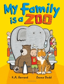 My Family is a Zoo, Paperback Book