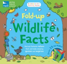RSPB: Fold-Up Wildlife Facts, Paperback Book