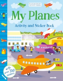 My Planes Activity and Sticker Book, Paperback / softback Book