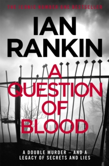 A Question of Blood, Paperback / softback Book
