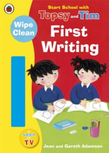 Start School with Topsy and Tim: Wipe Clean First Writing, Paperback / softback Book