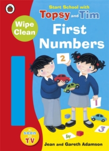 Start School with Topsy and Tim: Wipe Clean First Numbers, Paperback / softback Book