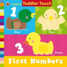 Ladybird Toddler Touch: First Numbers, Board book Book