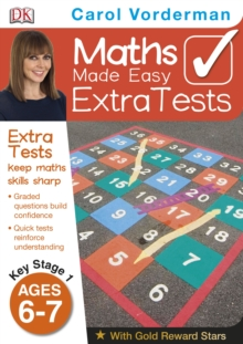 Maths Made Easy Extra Tests Age 6-7, Paperback Book