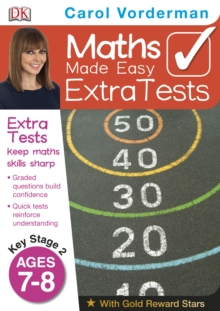 Maths Made Easy Extra Tests Age 7-8, Paperback Book