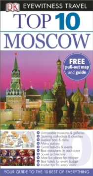 DK Eyewitness Top 10 Moscow, Paperback / softback Book