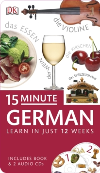 15-Minute German, Mixed media product Book