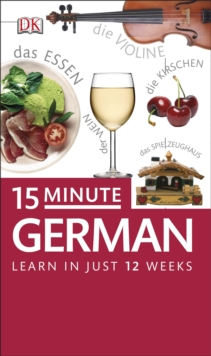 15-Minute German, Paperback Book