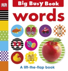 Big Busy Book Words, Board book Book