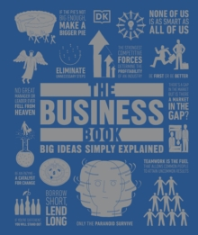 The Business Book : Big Ideas Simply Explained, Hardback Book