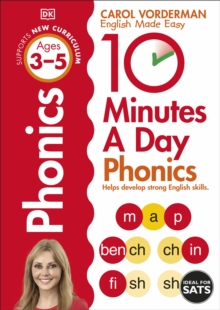 10 Minutes A Day Phonics Ages 3-5 Key Stage 1, Paperback Book