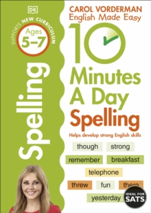 10 Minutes a Day Spelling KS1, Paperback Book