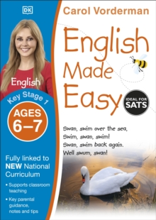 English Made Easy Ages 6-7 Key Stage 1, Paperback Book