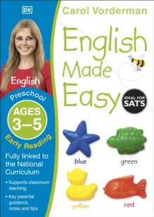 English Made Easy Early Reading Ages 3-5 Preschool Key Stage 0, Paperback / softback Book