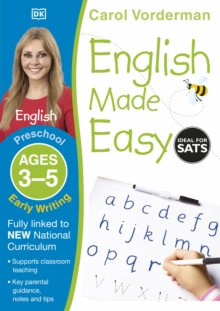 English Made Easy Early Writing Preschool Ages 3-5, Paperback Book