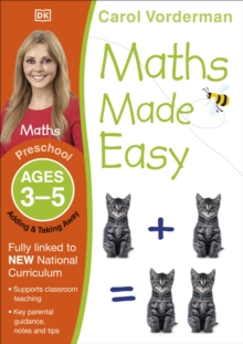 Maths Made Easy Adding And Taking Away Preschool Ages 3-5, Paperback Book