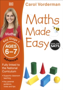 Maths Made Easy Ages 6-7 Key Stage 1 Advanced, Paperback Book