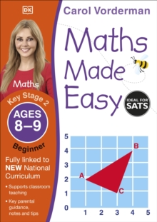 Maths Made Easy Ages 8-9 Key Stage 2 Beginner, Paperback / softback Book
