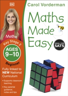 Maths Made Easy Ages 9-10 Key Stage 2 Beginner, Paperback Book